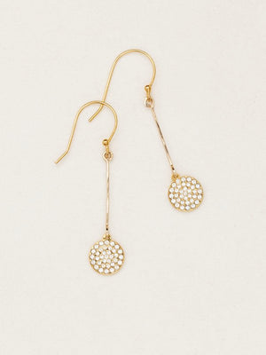 Holly Yashi Starlight Drop Earrings in Gold