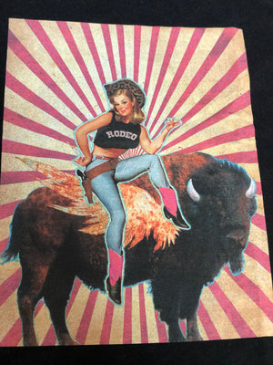Rodeo Sweetheart Graphic T-Shirt in Black