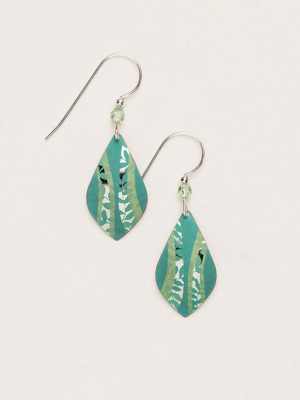 Holly Yashi Rivermind Earrings in Tidal Teal