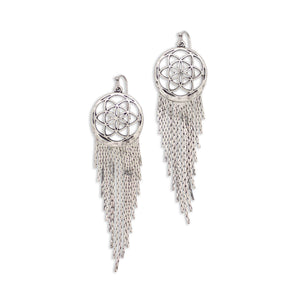 Dreamer Earrings in Silver