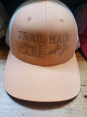 Trail Hair Don't Care Trucker Cap in Assorted Colors