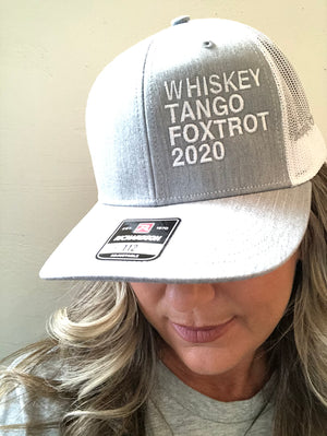 WTF 2020 Trucker Cap in Assorted Colors