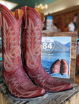 "Old Gringo Leather Cowboy Boots Nevada 13"" in Red"