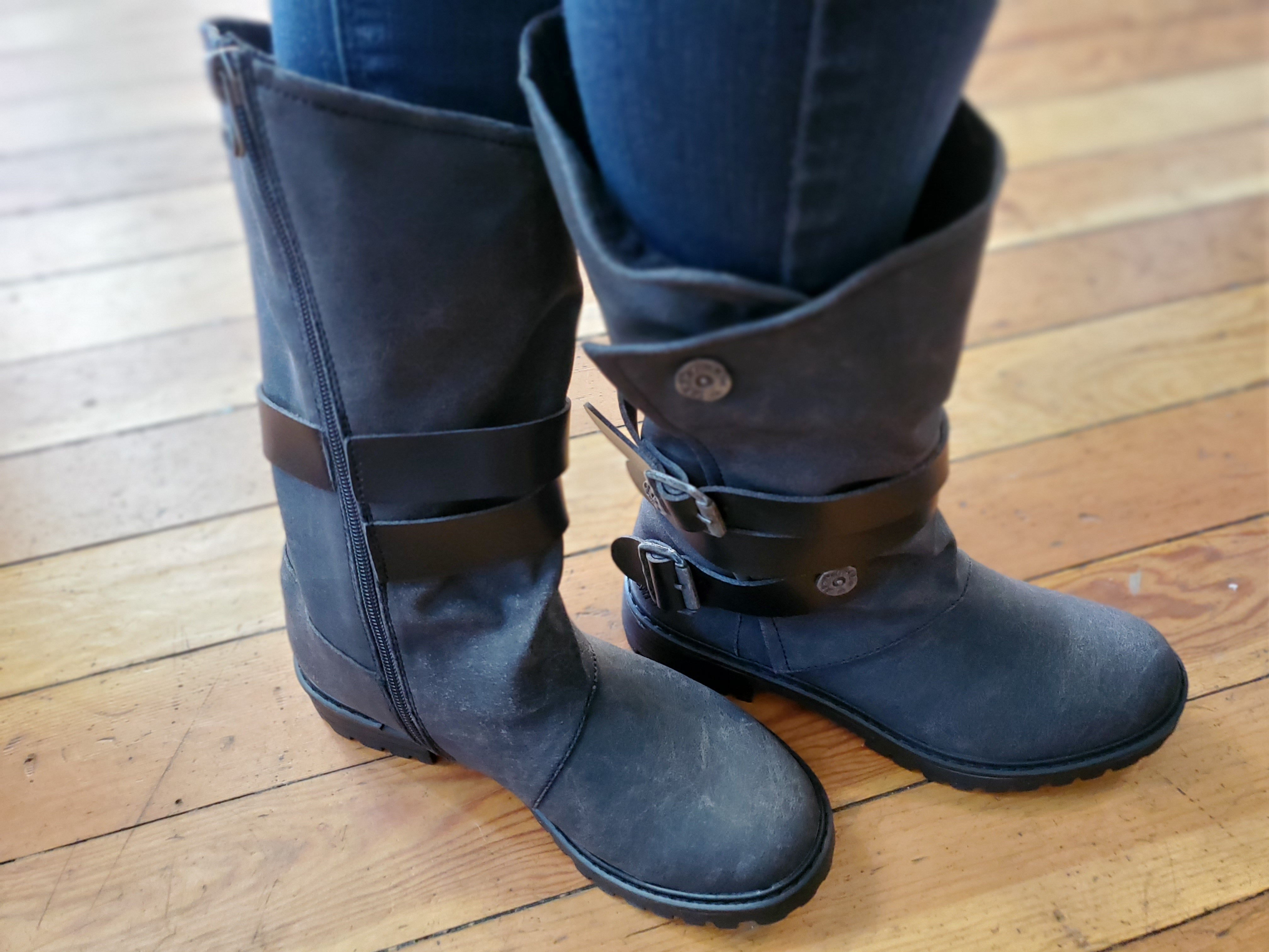 Blowfish Rider Boots in Black