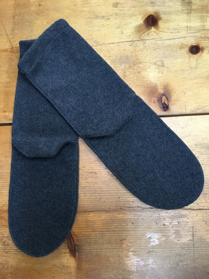 Handmade Fleece Adult Socks - tempting-teal-boutique