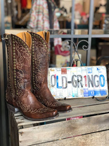 "Old Gringo Hilary Brass ""13 inch Boot"