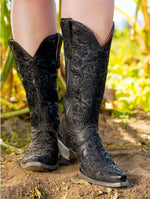 Old Gringo Clarise Leather Boot in Black