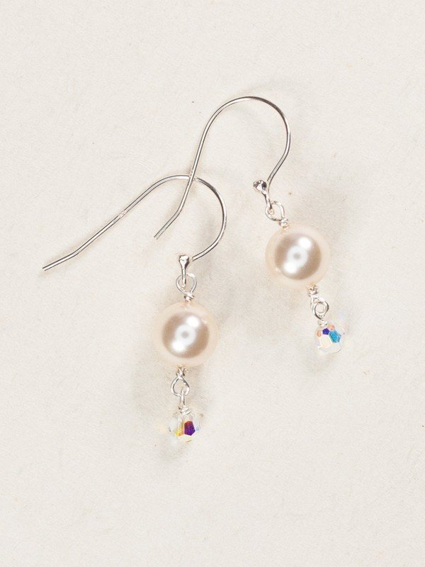 Holly Yashi Hollywood Earrings w/ Pearl