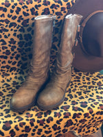 Blowfish Roxie Boot in Brown