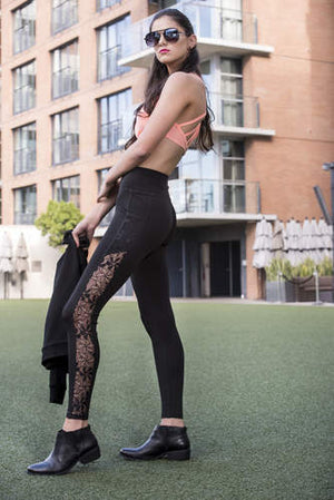 "Pop Fit Athletic Leggings ""Amelia w/ Pockets"""