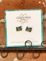 Unique Twist Oregon Stud Earrings