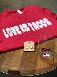 Love is Tacos Graphic Tshirt