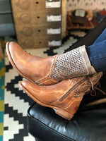 Bed Stu Cheshire Tan Rustic/Taupe Rustic Mason Leather Boots
