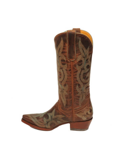 Old Gringo Diego Leather Boots in Rust - tempting-teal-boutique