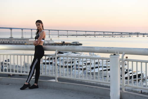 Pop Fit Athletic Leggings Kennedy with Pockets Athleisure Wear