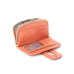 Hobo Halo Vintage Style Leather Wallet