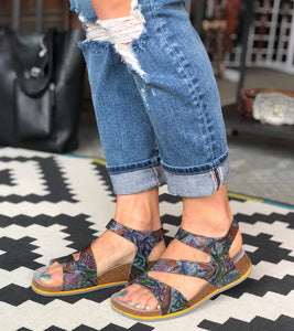 Take Me Carp Multi-Color Sandal