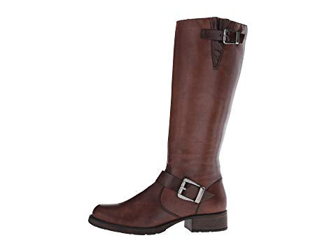 Rieker Faith Tall Boot in Mahagony