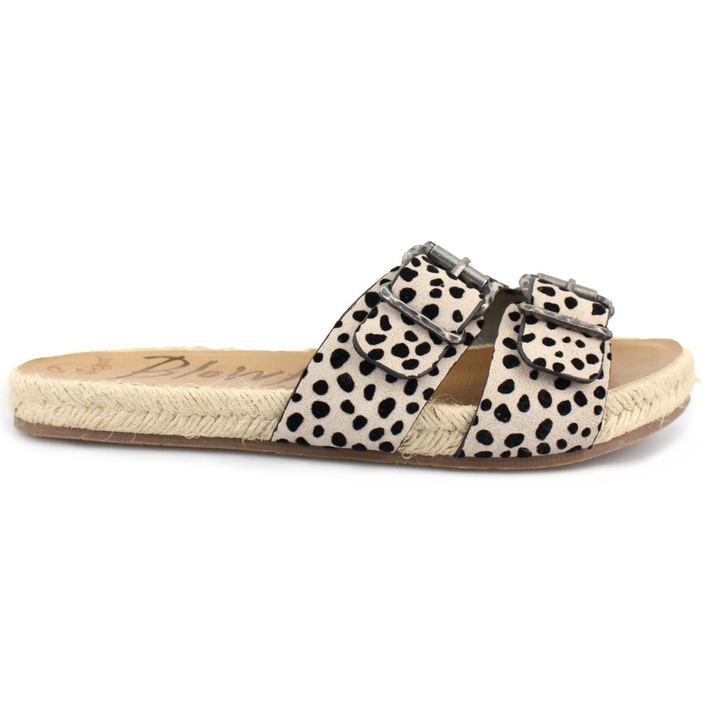 Blowfish Gennah Rope Whitesands Pixi Leopard Sandals