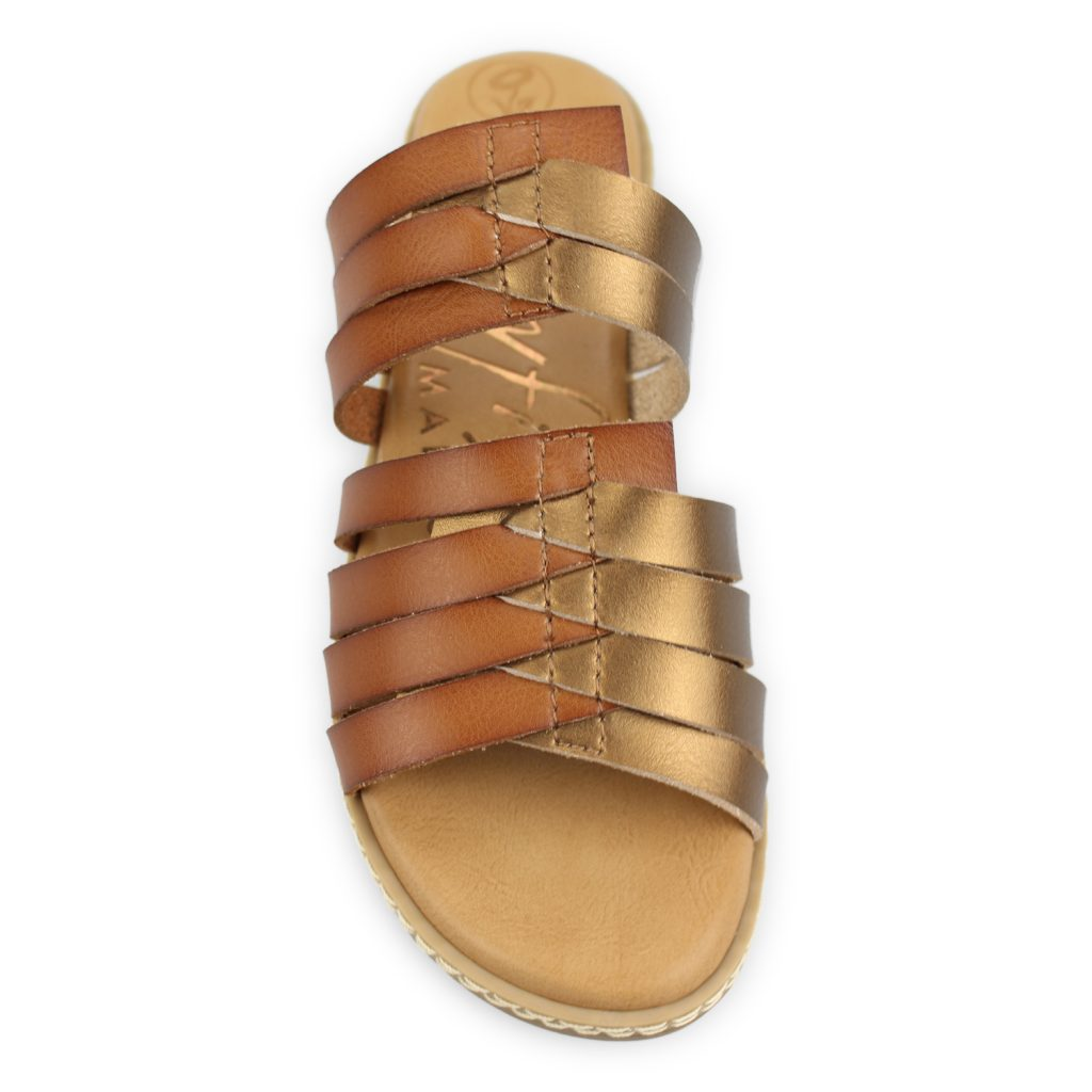 Blowfish Osaki Scotch Bronze Dye Sandals