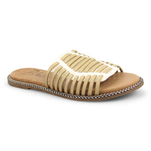 Blowfish Rylim Coconut Natural Dye Colored Slide Sandals
