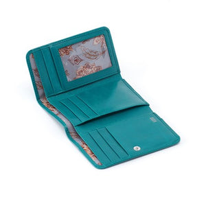 Hobo Jill Leather Tri-Fold Wallet - tempting-teal-boutique