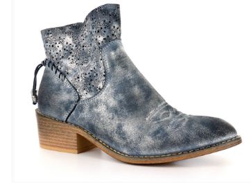 Dazzling Blue Short Booties