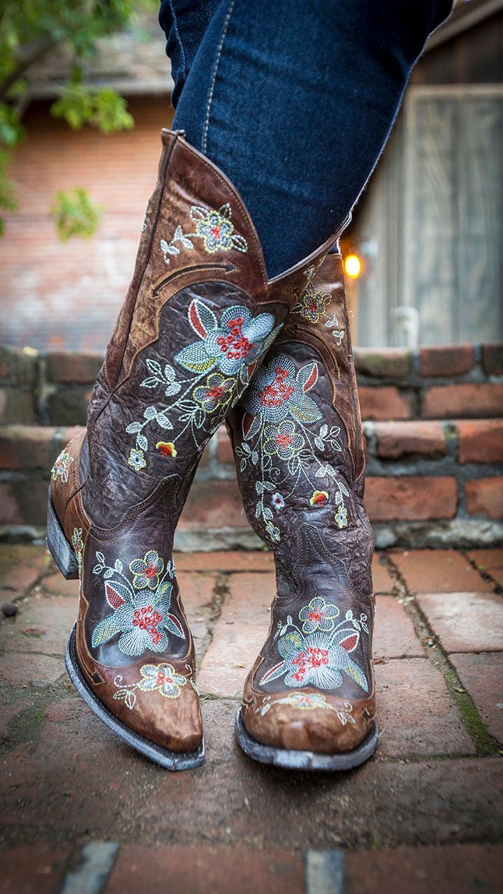 Old Gringo Leather Cowboy Boots Bonnie - tempting-teal-boutique