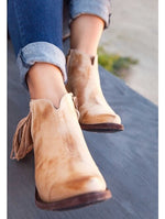 Yippee Ki Yay by Old Gringo Latika II Leather Bootie in Bone