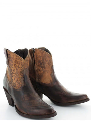 Yippee Ki Yay by Old Gringo Corrina Ankle Leather Boots in Tan