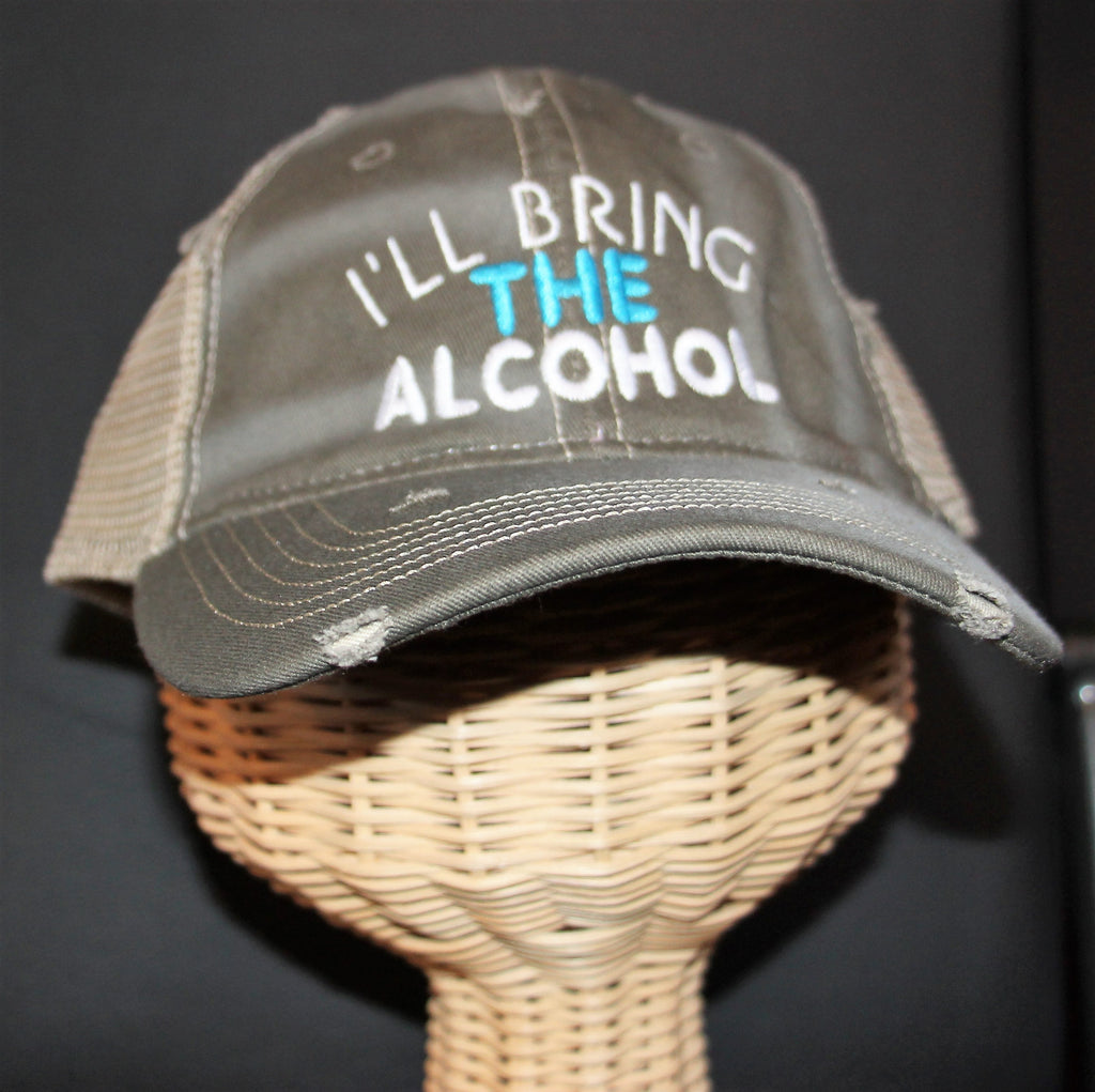 Bring the Alcohol Trucker Hat
