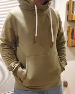 Wanakome Men's Pullover Hoodie in Olive or Grey