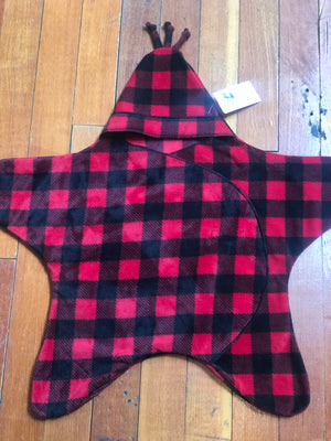 Wolfe Fleece Baby Star Bunting