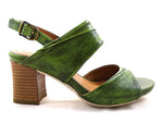 Martinique Back Strap Sandal in Washed Nappa Palm