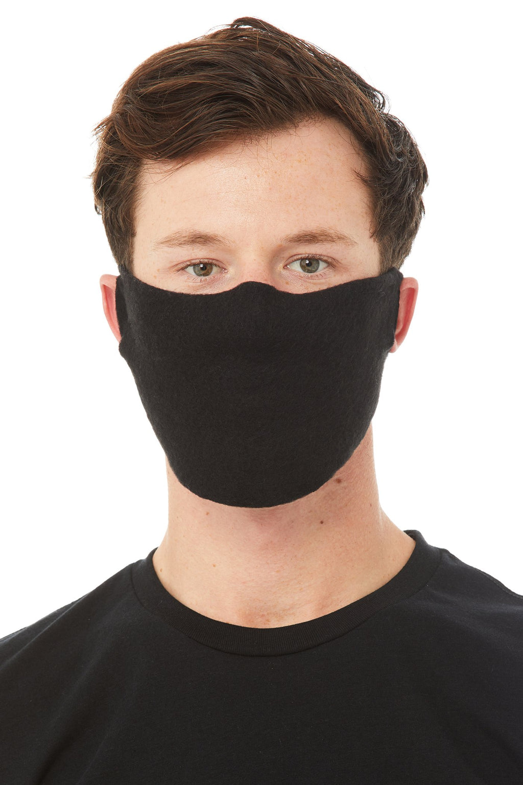Daily Face Cover Mask 4 Pack in Black