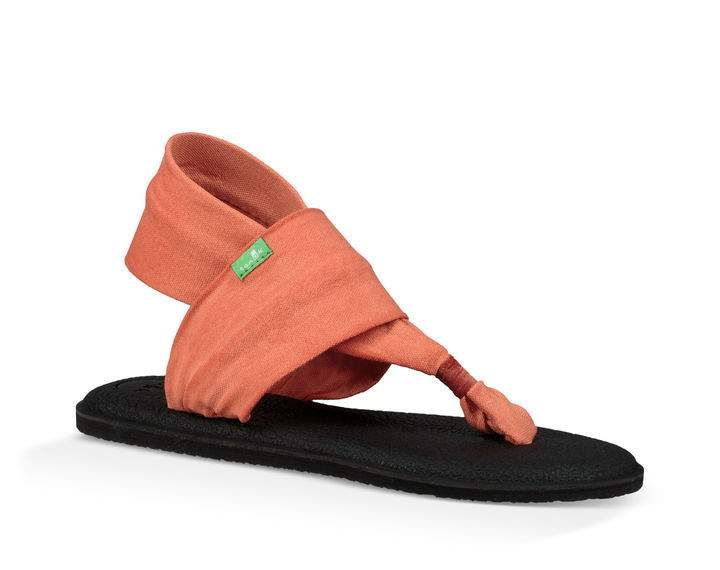 Sanuk Yoga Sling 2 in Carnelian - tempting-teal-boutique