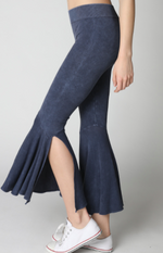 Nikibiki Vintage Flare Cropped Pants One Size in Assorted Colors