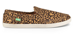 Sanuk Pair O Dice Leopard Print Shoes