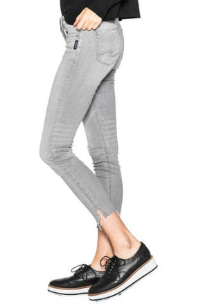 Silver Aiko Ankle Skinny Grey Jeans