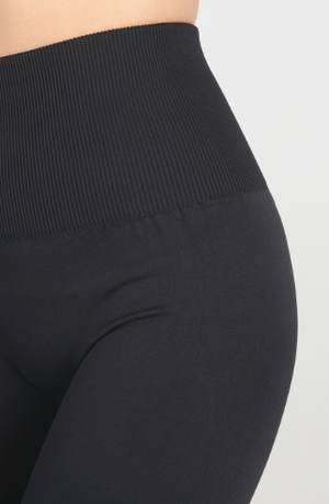 Nikibiki Highwaist Band Leggings in Black