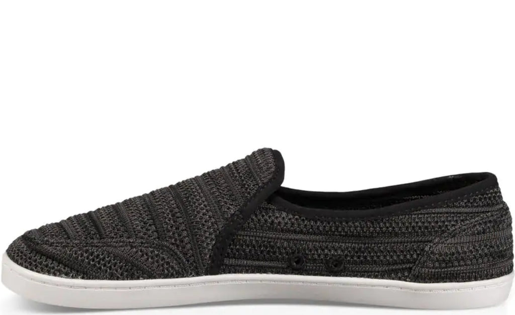 Sanuk Pair O Dice Yew-Knit Shoes in Black