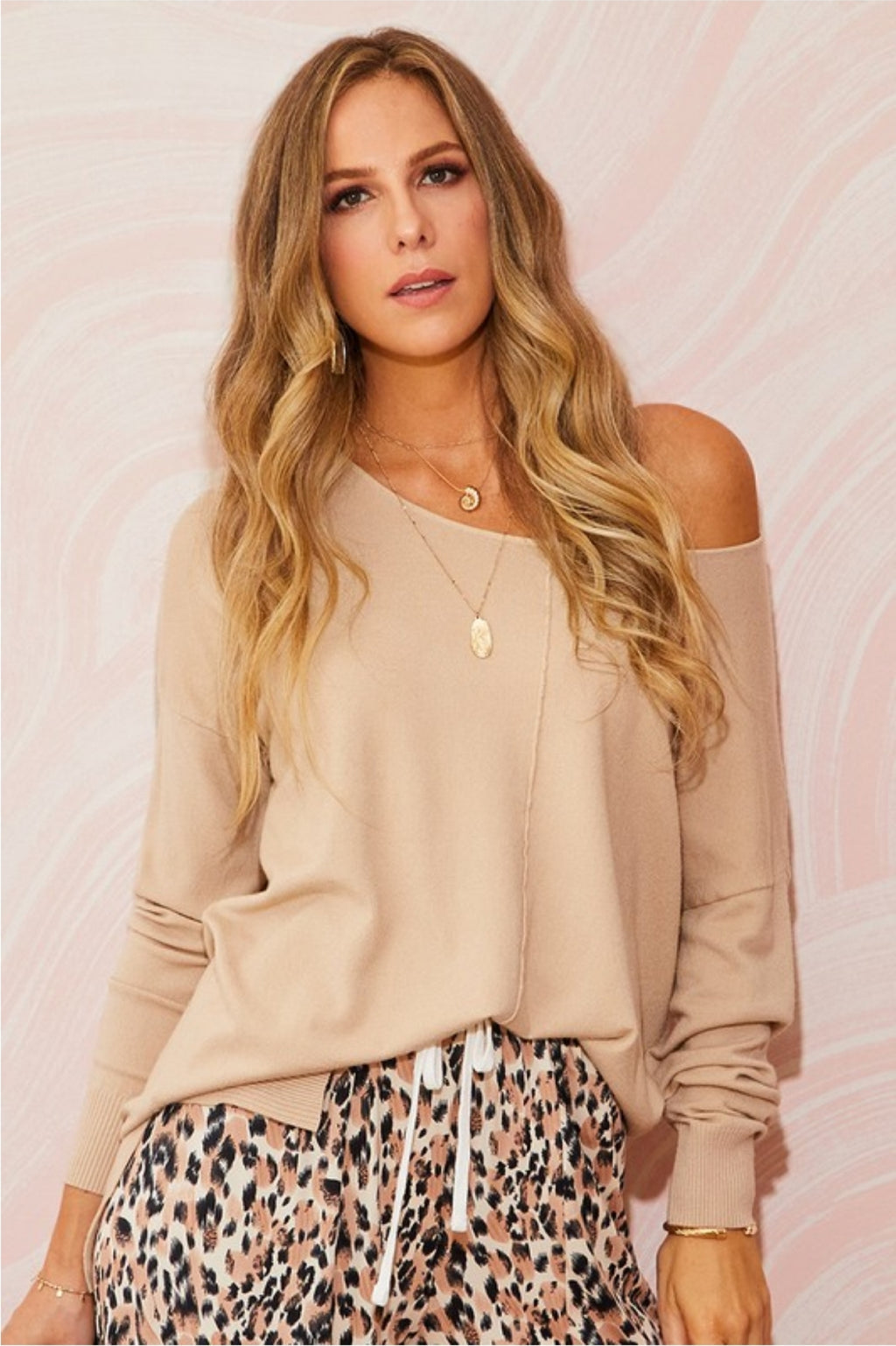 Round Neck Loose Fit Tunic