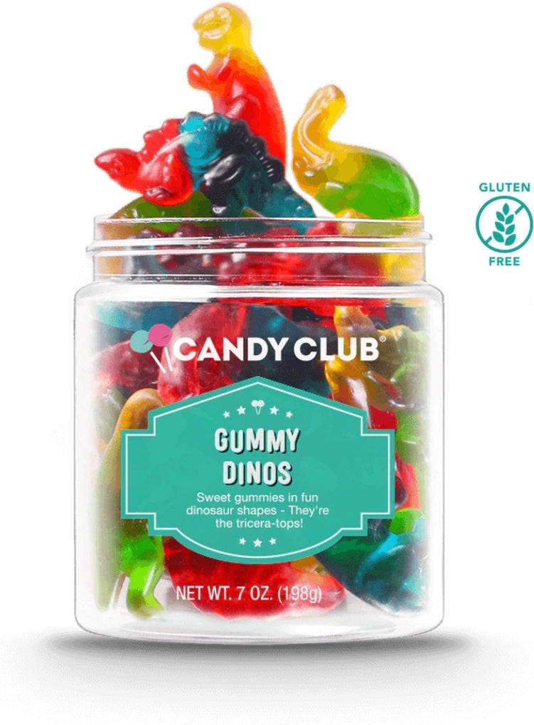 Candy Club Assorted Candy Containers