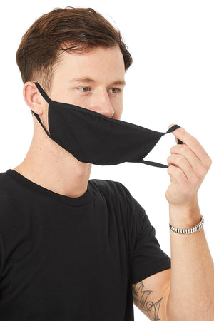 2-Ply Reusable Face Mask in Black