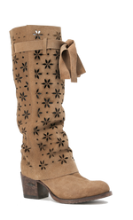 Miss Macie It's a Wrap Boot in Tan - tempting-teal-boutique