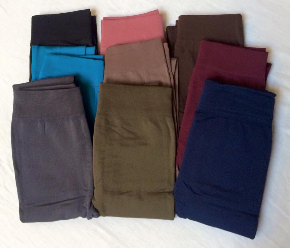 Fleece Lined Leggings One Size