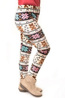 Kid's print leggings.
