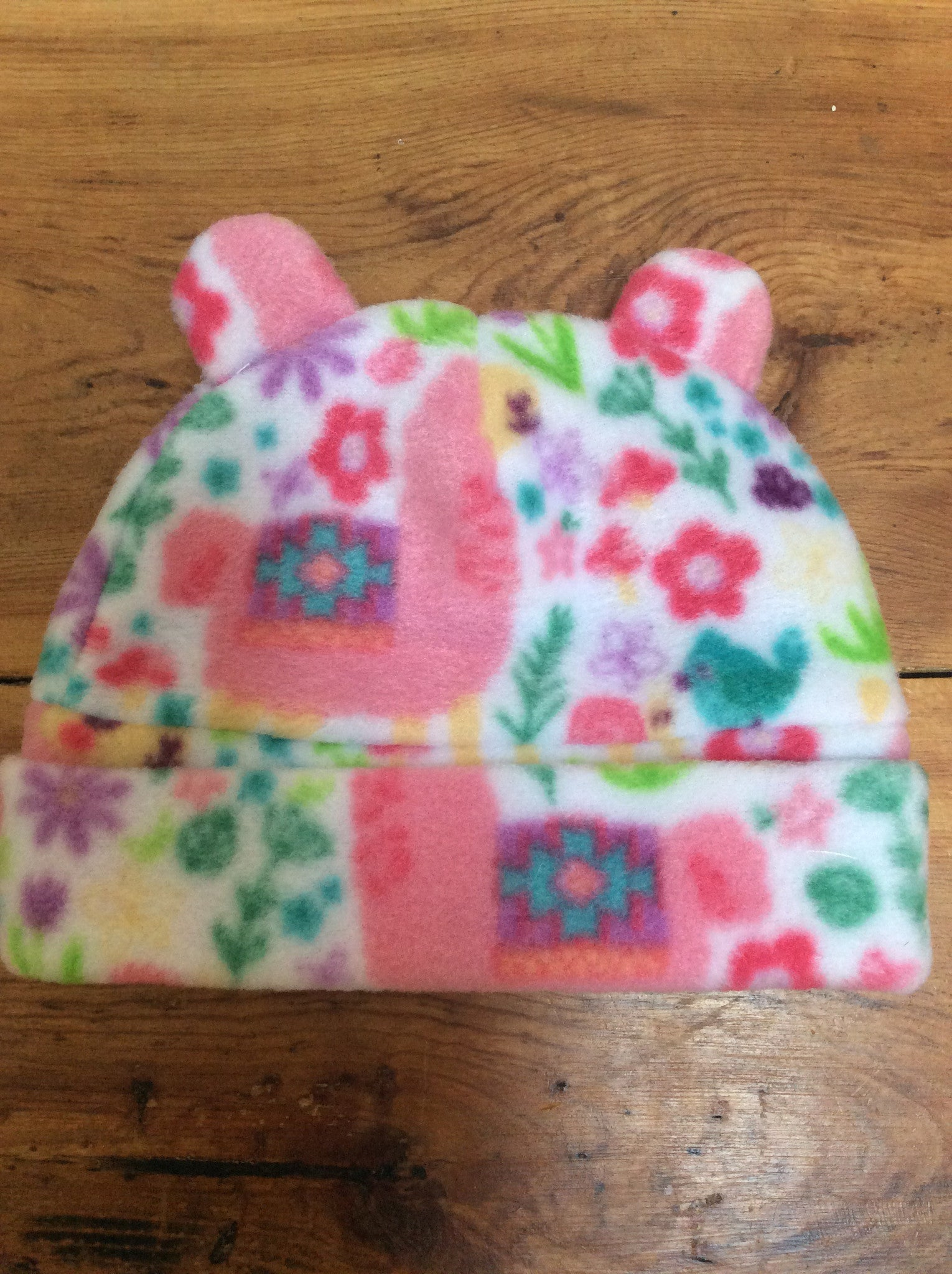 Wolfe Fleece Baby Hats - tempting-teal-boutique