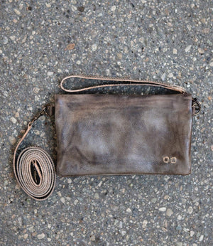 Bed Stu Cadence Crossbody Bag  in Taupe Rustic