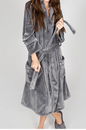"PJ Salvage ""Let's Get Cozy"" Adult Plush Robe"